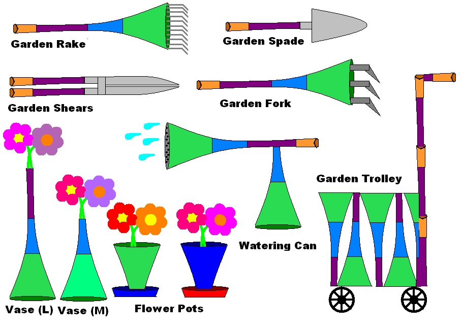 English kids fun gardening tools for Gardening tools word search